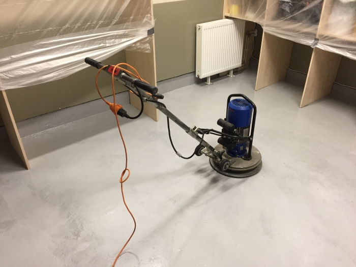 Technical room concrete floor restoration and coating  [3]