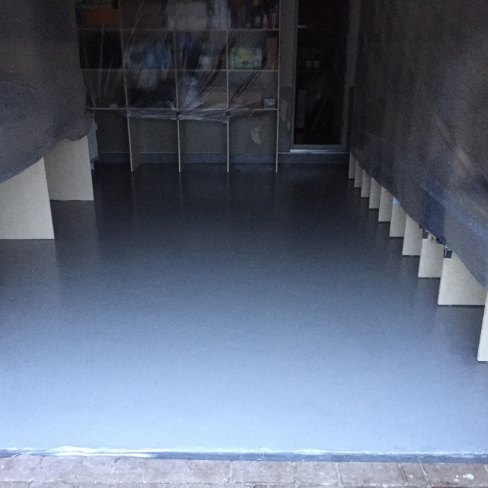 Technical room concrete floor restoration and coating  [5]