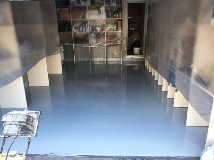 Technical room concrete floor restoration and coating  [6]