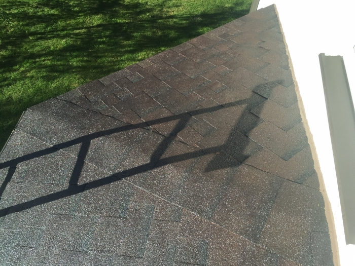 Tile (bitumen) roof of a private house [12]