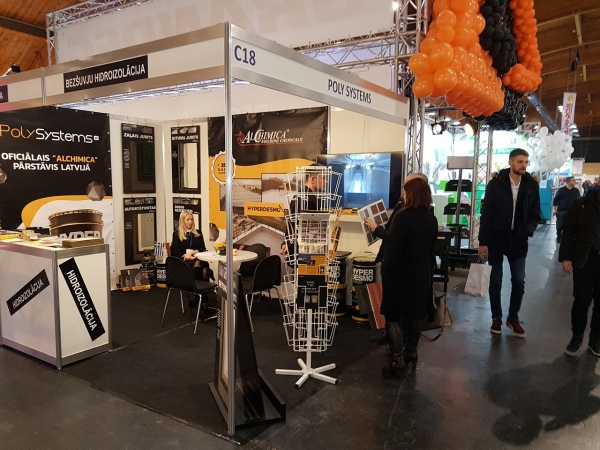 POLY SYSTEMS AT THE EXHIBITION HOUSE I 2018-2
