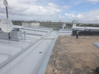 In Jule 2020, the concrete roof waterproofing was completed at Zeltinu Street 8 k- 1, Riga- 410 m2