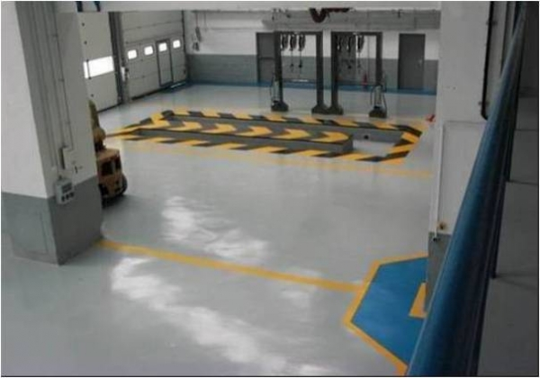 Industrial floors with HYPERDESMO-1