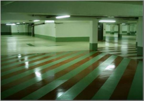 Industrial floors with HYPERDESMO-3