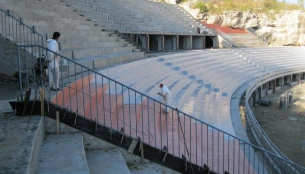 Stadiums and sport arenas with HYPERDESMO-2